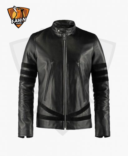 Multi Color Men Fashion High Quality Leather Jacket