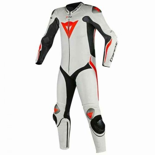 New MUGELLO R White Motorbike Racing Leather Suits